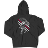 Firefighter Exclusive Thin Red Line, Hoodie  | Evan Mila - EvanMila.com