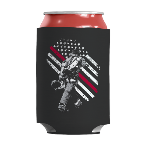 Firefighter Exclusive Thin Red Line, Can Wraps  | Evan Mila - EvanMila.com