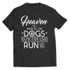 Heaven Is Where All The Dogs You've Ever Loved Run To Greet You, Unisex Shirt  | Evan Mila - EvanMila.com