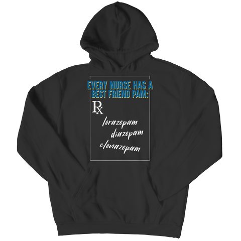 Every Nurse has a Best Friend, Hoodie  | Evan Mila - EvanMila.com