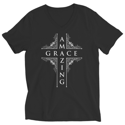 Amazing Grace, Ladies V-Neck  | Evan Mila - EvanMila.com