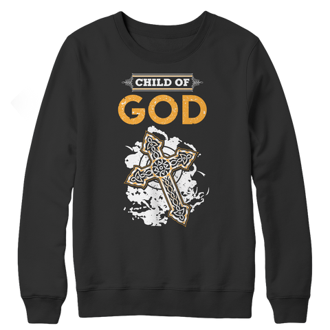 Child Of God, Crewneck Fleece  | Evan Mila - EvanMila.com