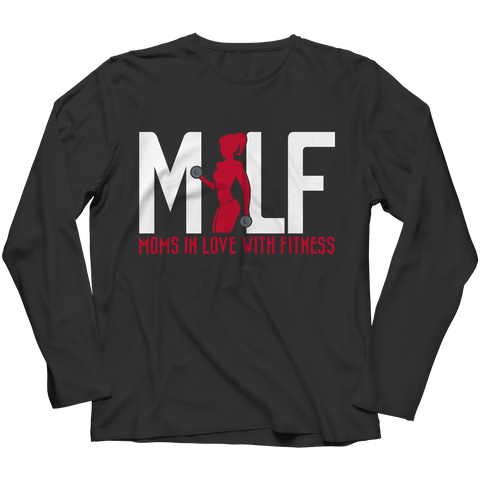 MILF Moms In Love With Fitness, Long Sleeve  | Evan Mila - EvanMila.com