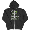 The Joy Of The Lord, Zipper Hoodie  | Evan Mila - EvanMila.com