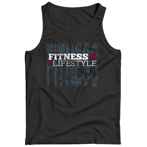 Fitness  Is My Lifestyle, Unisex Shirt  | Evan Mila - EvanMila.com