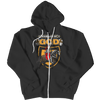 Warrior Of God, Zipper Hoodie  | Evan Mila - EvanMila.com
