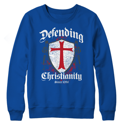 Defending Christianity, Crewneck Fleece  | Evan Mila - EvanMila.com