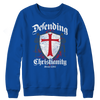 Image of Defending Christianity, Crewneck Fleece  | Evan Mila - EvanMila.com