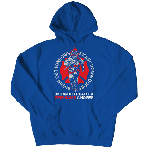 Bustin Out Windows, Hoodie  | Evan Mila - EvanMila.com
