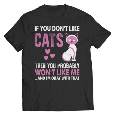 If You Don't Like Cats, Unisex Shirt  | Evan Mila - EvanMila.com