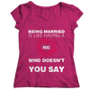 Image of Limited Edition - Being Married Is Like, Unisex Shirt  | Evan Mila - EvanMila.com