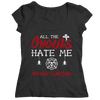 Image of All The Ghouls HATE Me- Firefighter, Unisex Shirt  | Evan Mila - EvanMila.com