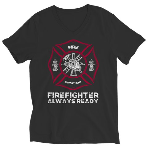 Firefighters Always Ready, Unisex Shirt  | Evan Mila - EvanMila.com