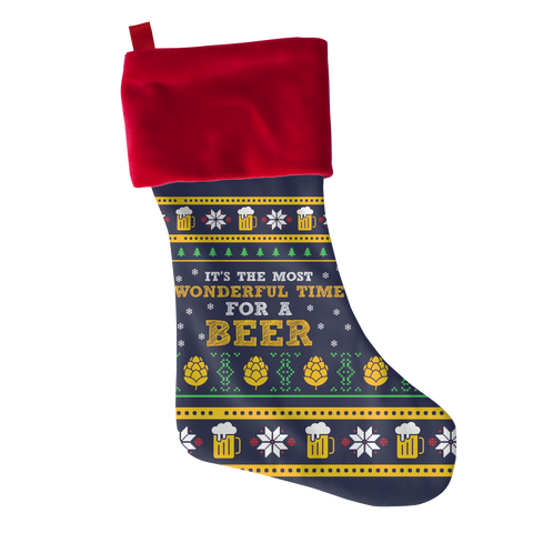 Beer Time, Stockings  | Evan Mila - EvanMila.com