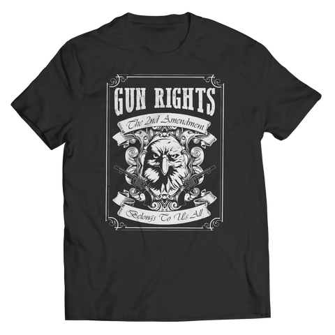 Gun Rights 2nd Ammendment, Unisex Shirt  | Evan Mila - EvanMila.com