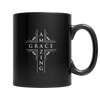 Amazing Grace, 11oz Black Mug  | Evan Mila - EvanMila.com