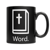 Word, 11oz White Mug  | Evan Mila - EvanMila.com