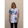 Image of Trump USA #45 Baseball Jersey