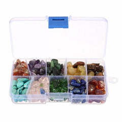 Gems - 255g Ten Kinds Of Stone Kit Natural With Quartz Crystals