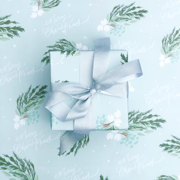 Have A Berry Merry Christmas - Wrapping Paper