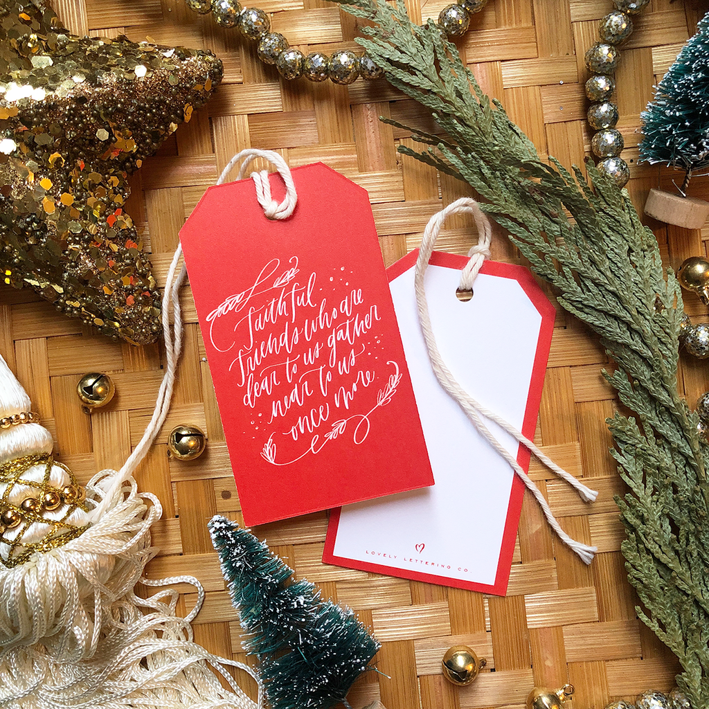 Faithful Friends - Gift Tag
