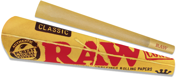 Raw Classic Pre-Rolled Papers King Size 3 pack