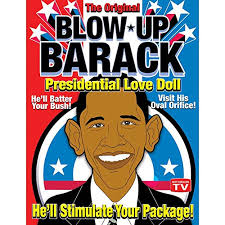 Blow Up Barack, Presidential love doll