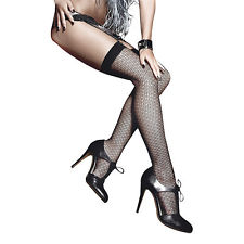 Jacquard Thigh High Stocking (one Size)