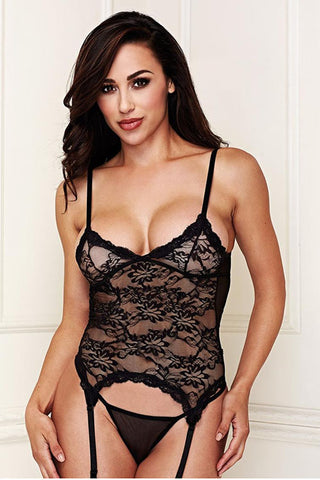 baci LACE BUSTIER 7 G-STRING SET