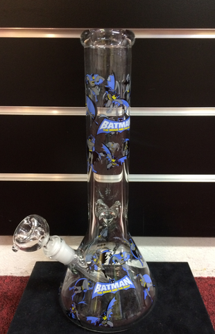 BATMAN beaker style Water Pipe 7m thick glass