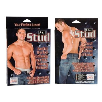 CALEXOTICS Mr. Stud Male Love Doll