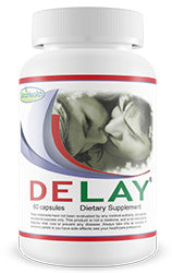 DELAY - ejaculation function. 60 Capsules