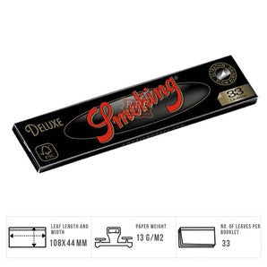Deluxe Kingsize & Tips Rolling Papers