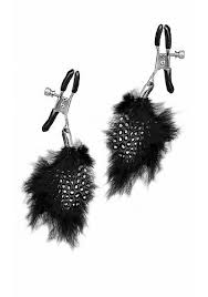 Fetish Fantasy Feather Nipple Clamps