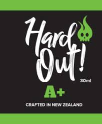 Hardout E-Juice 30ml CRAFTED IN NZ 60/40 VG/PG