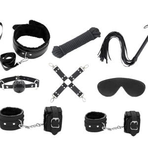 Love in Leather BONDAGE KIT Colour RED