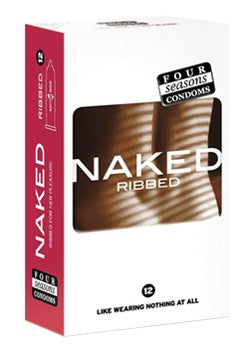 Four Seasons Naked Ribbed 12pk