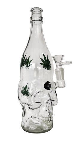 Glass Skull Water Pipe