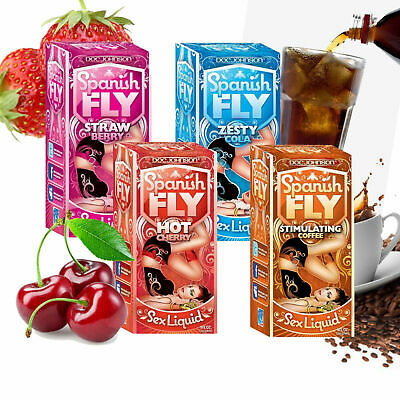 Spanish FLY Sex Liquid. 2 Flavours available, Hot Cherry & Wild Strawberry