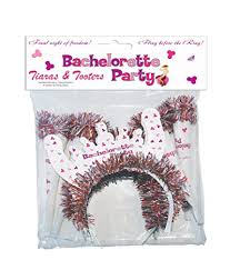 Bachelorette Party Tiaras & Tooters