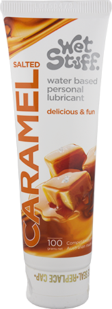 Wet Stuff Water Based Lubricant: Salted Caramel 100gm