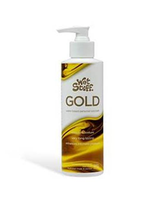 Wet Stuff Gold Water based Lubricant 550ml