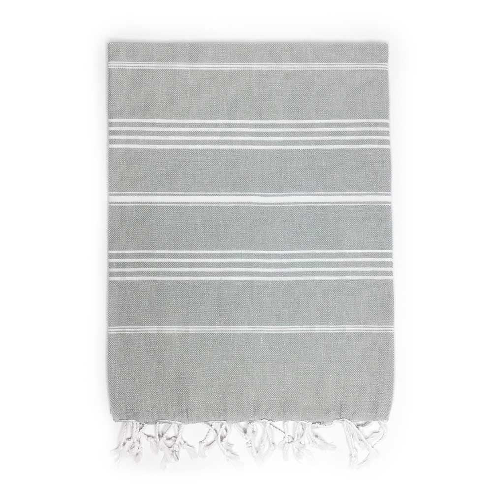 Stripes Towel (Grey)