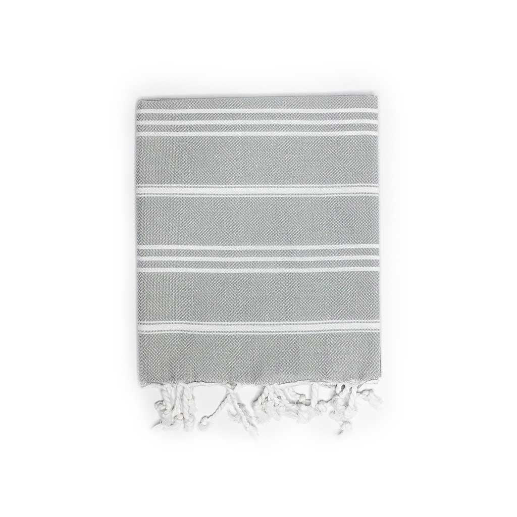 Stripes Hand Towel (Grey)