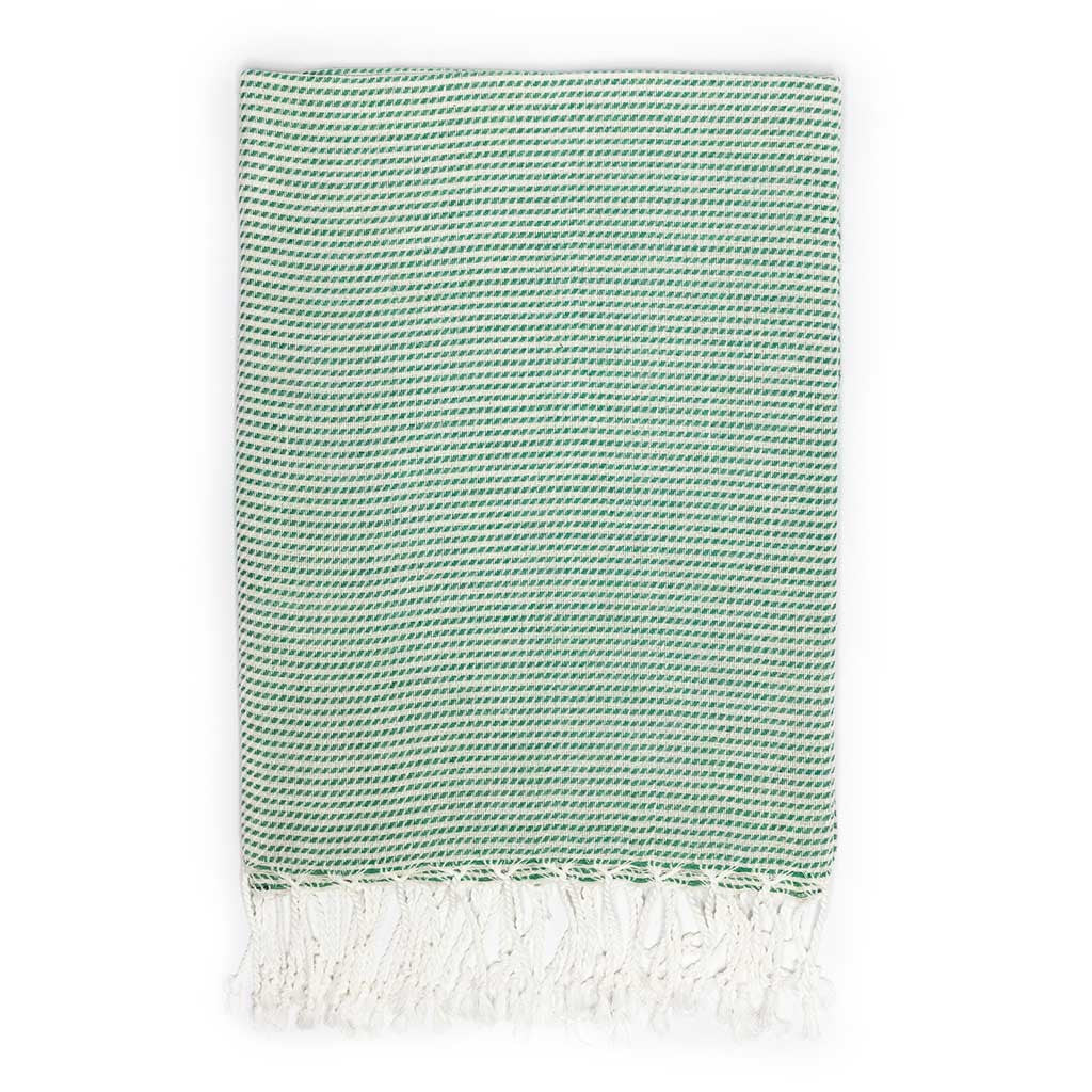 Moire Towel (Green)