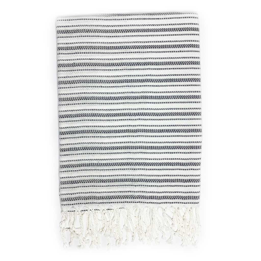 Tracks Towel (Grey)