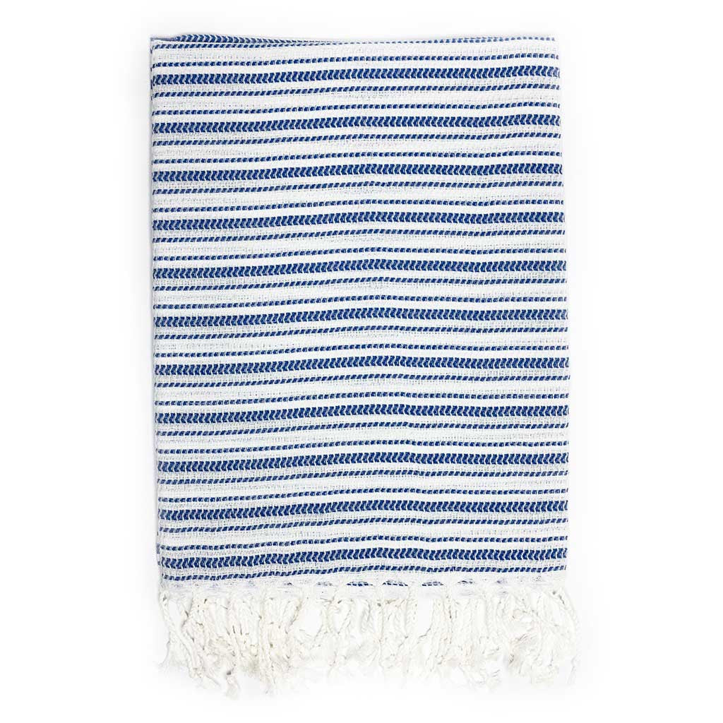 Tracks Towel (Blue)