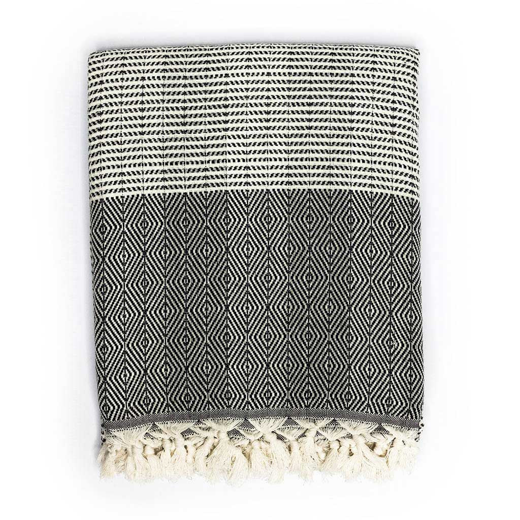 Bokeh Blanket (Black)