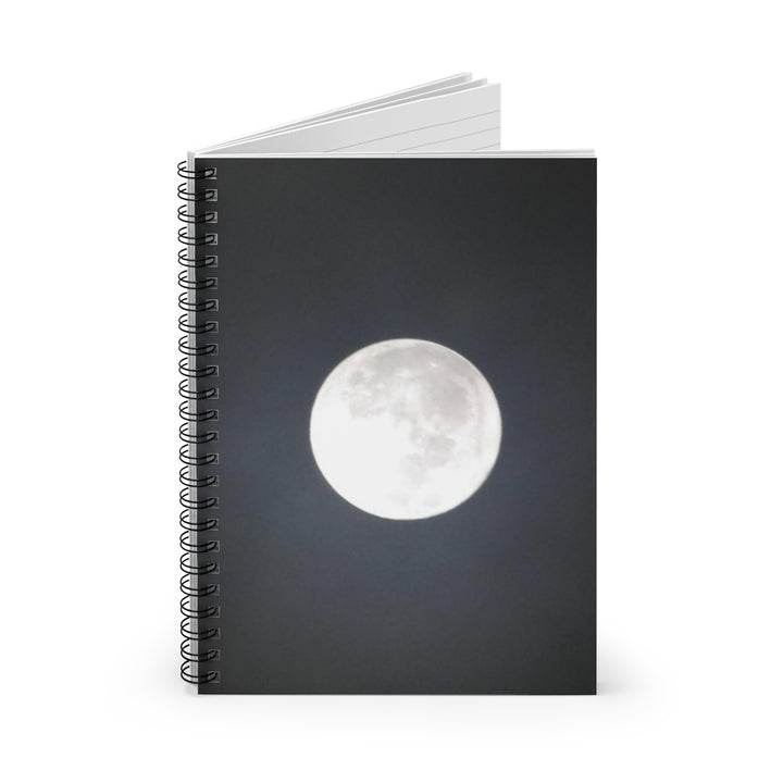 Full Moon - Spiral Lined Notebook