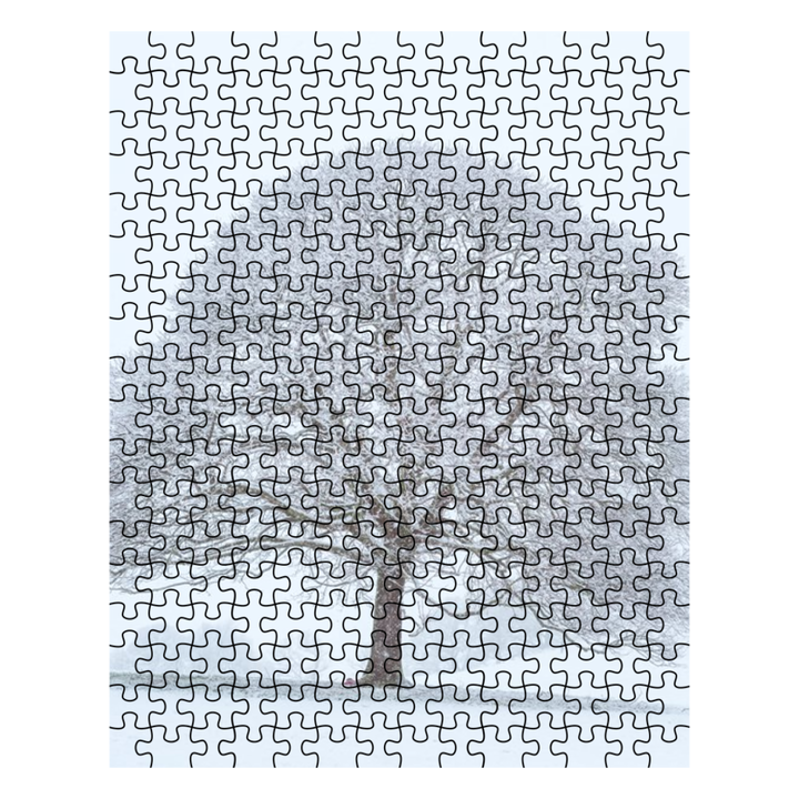 Puzzle - Big Snowy Tree